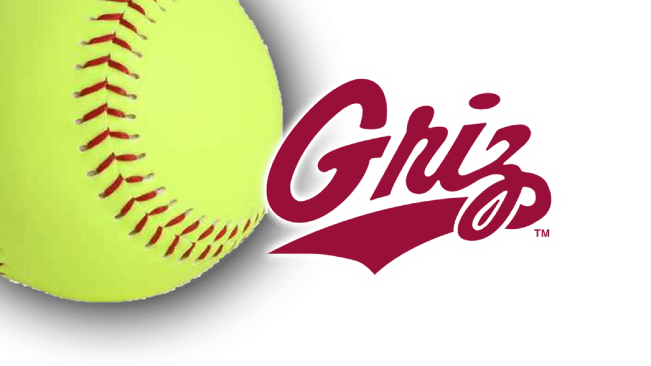 Montana Grizzlies softball logo
