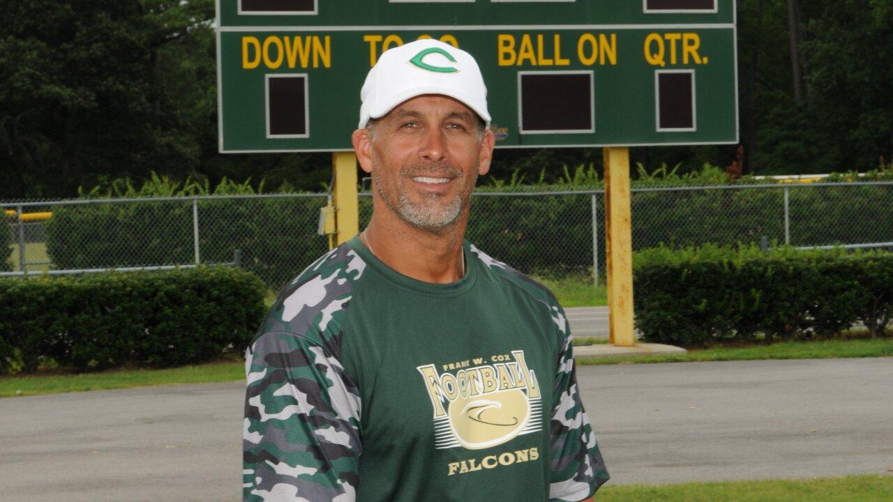 Cox High School's head varsity football coach isreinstated