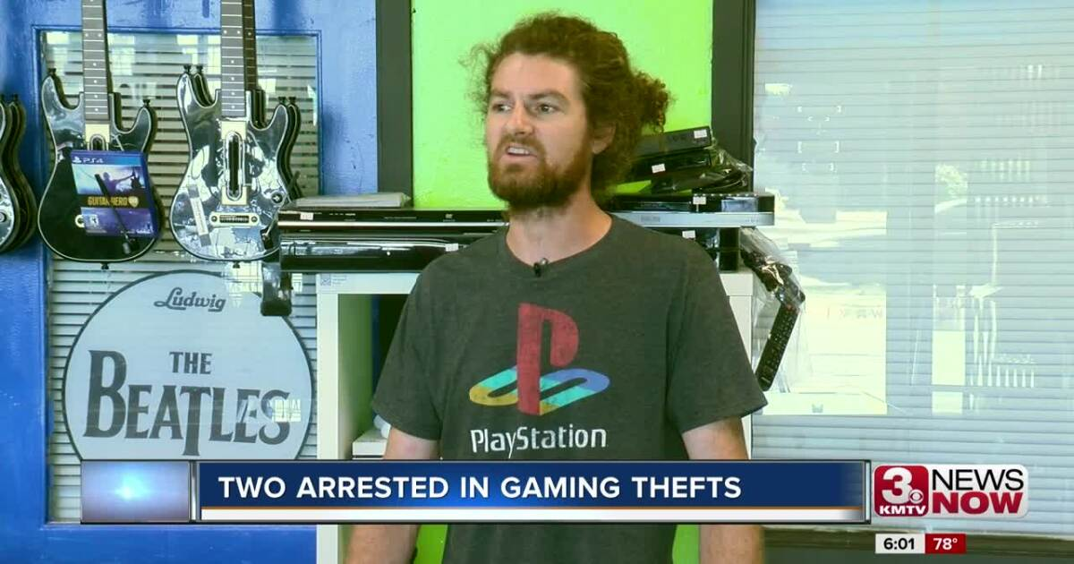 Two arrested in Gameroom thefts