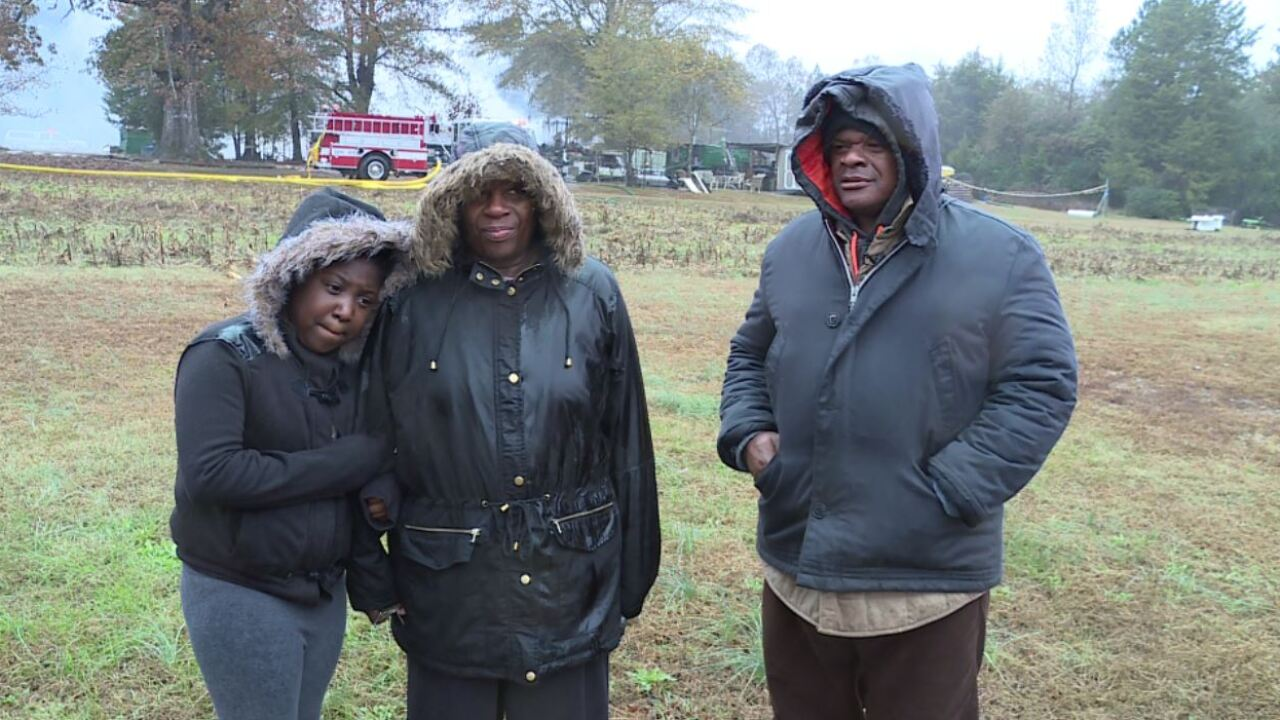 Dinwiddie man drags his love from burning home: 'I would have died getting herout'