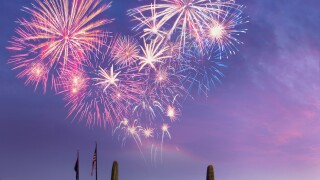 Fort McDowell Fireworks