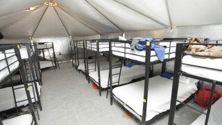 Immigration Border Tent