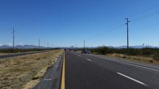 Rollover shuts down EB State Route 80