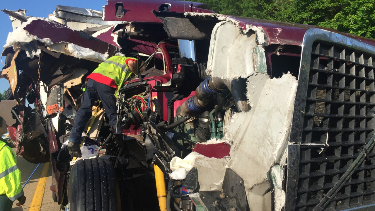 Driver charged in I-295 beer truckcrash