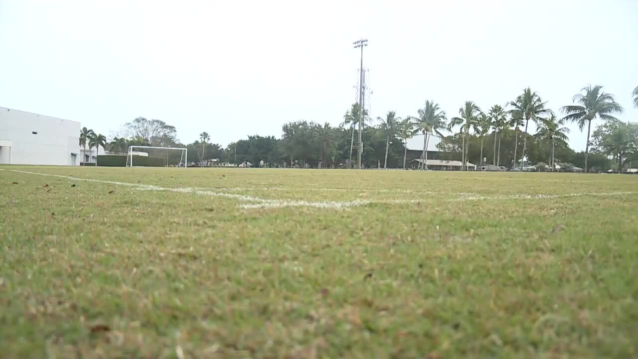 Soccer field at Village Park in Wellington, where Wellington Shootout will be held