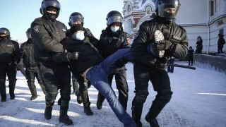 Russia Navalny Protests