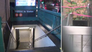Scene after 16-year-old boy stabbed, robbed in Bronx subway station