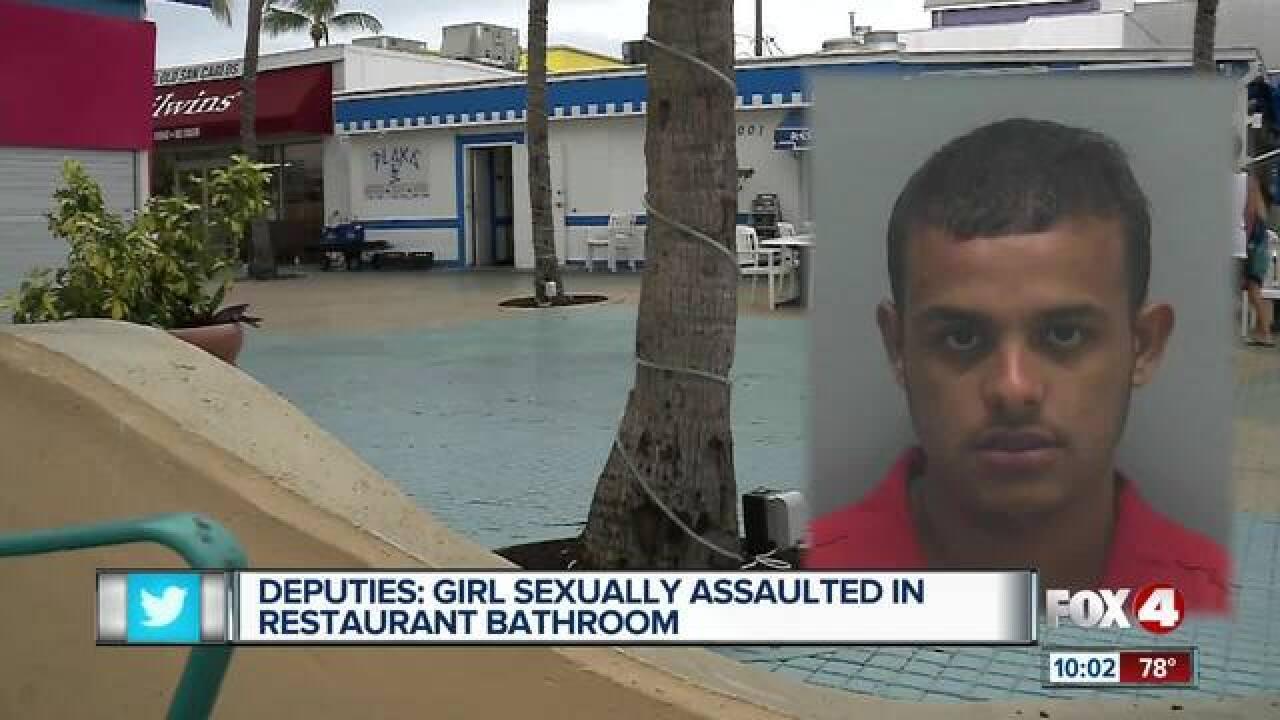 Arrest made in rape of teen in men's bathroom