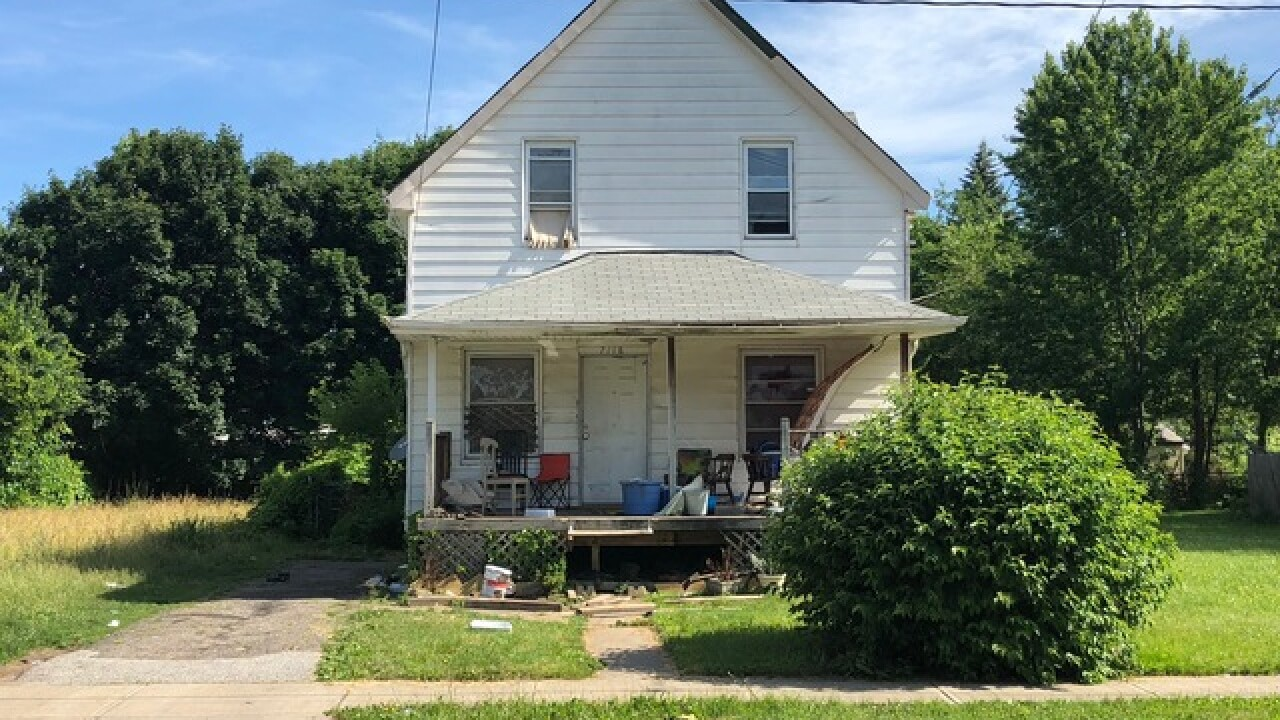 Squatters won't leave this abandoned home