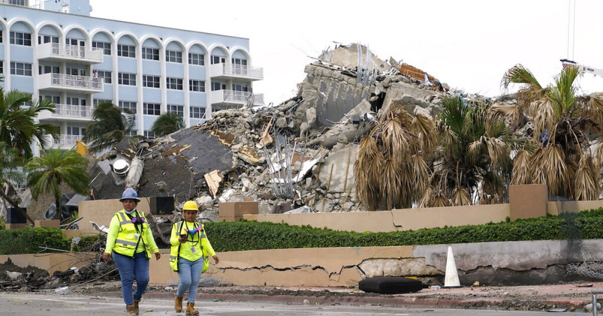 10 more victims found in rubble of Surfside collapse, bringing death toll to 46
