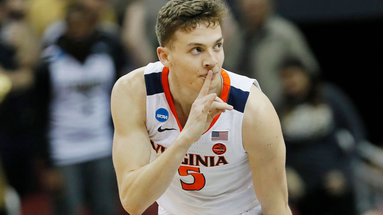 Virginia guard prohibited from starting wedding registry until after the Final Four