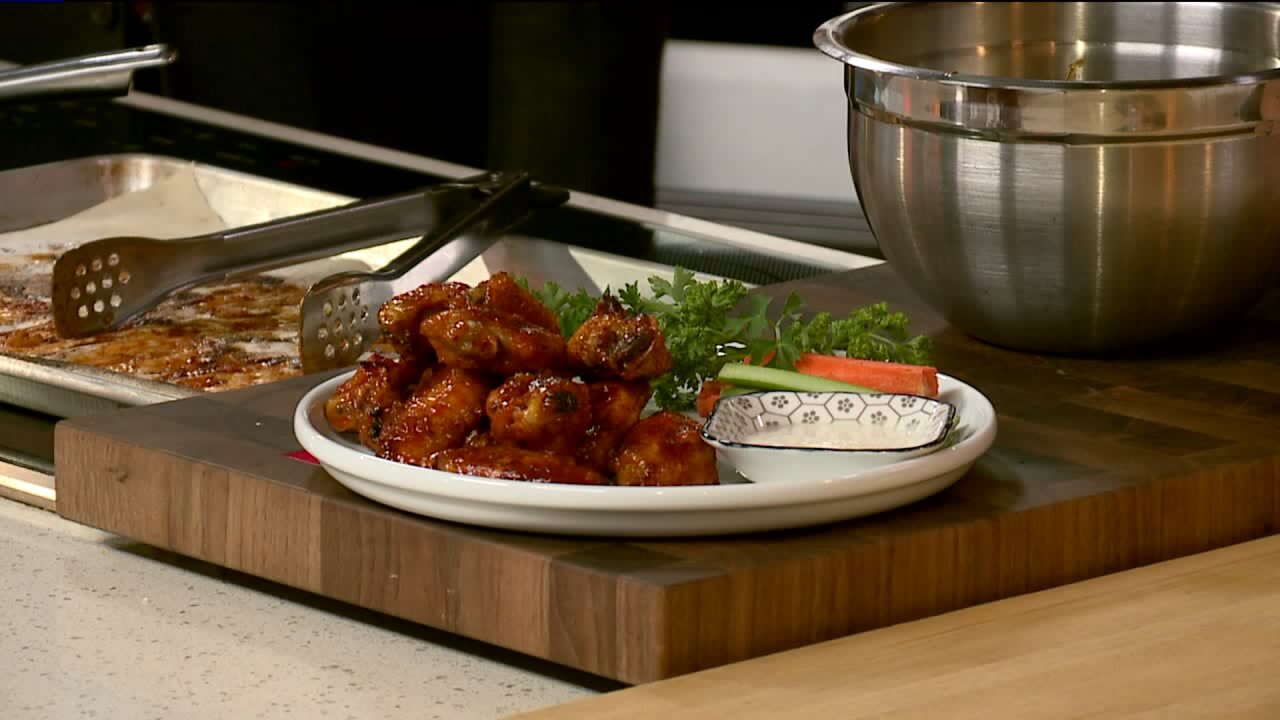 Game Day Wings recipe
