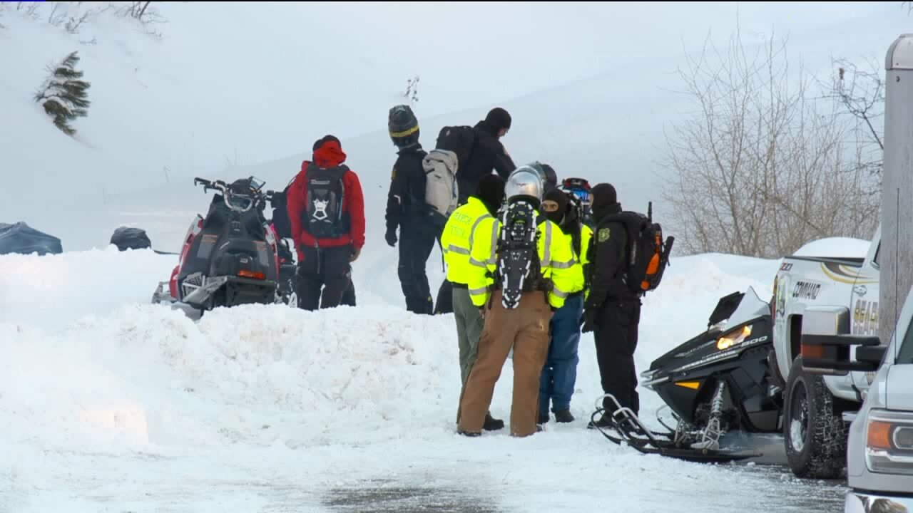 Body of missing snowmobiler recovered after avalanche on Circleville Mountain