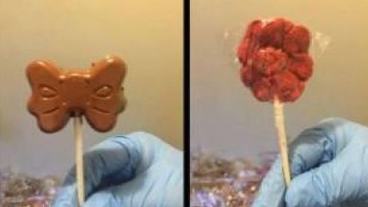 DEA warns about pot, meth laced candy