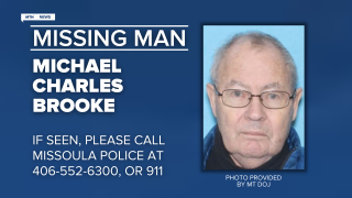 Missing Endangered Person Advisory has been issued for Michael Charles Brooke