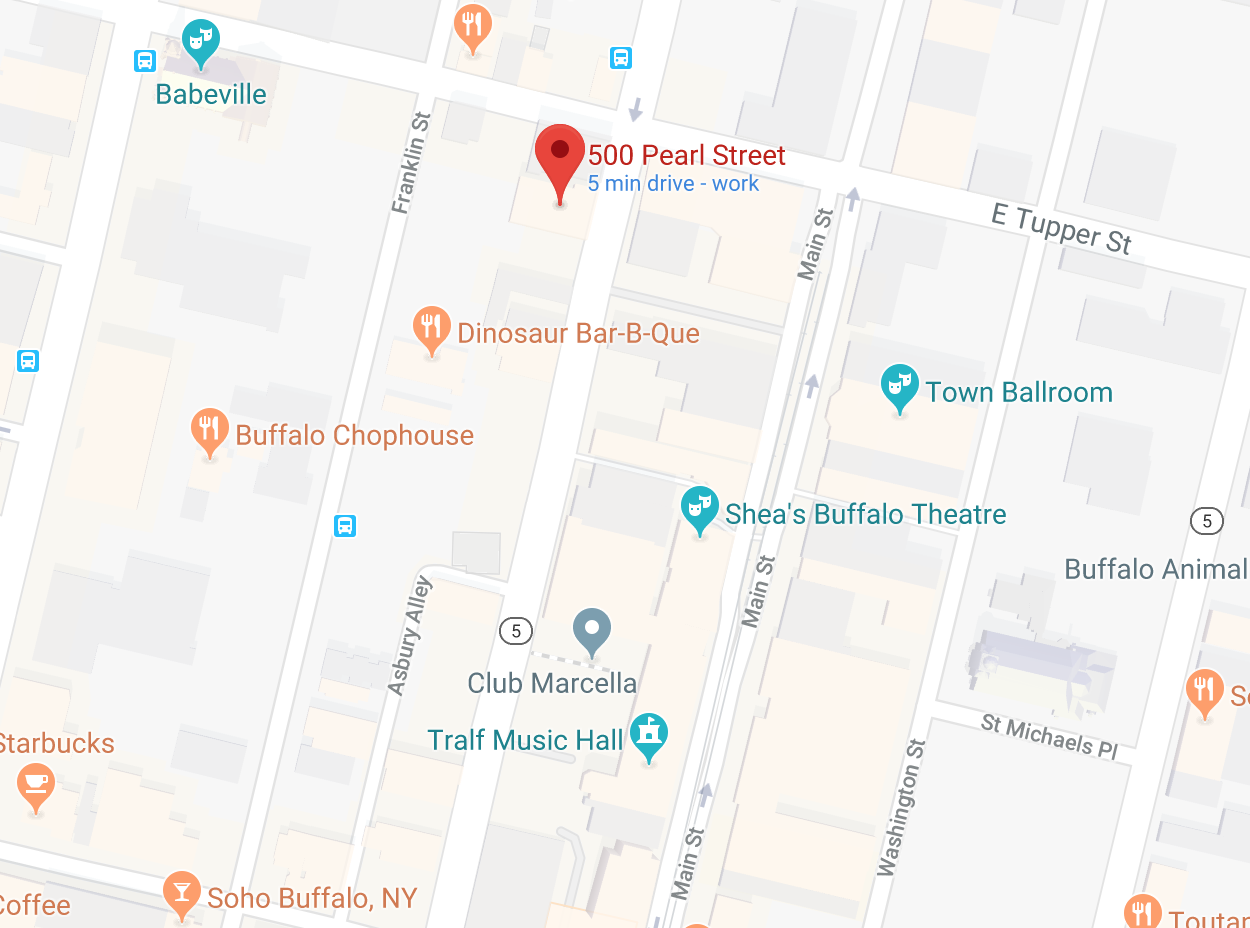 Location of 500 Pearl Street