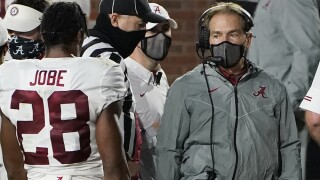 Tide's Nick Saban tests positive for COVID-19, will miss Iron Bowl