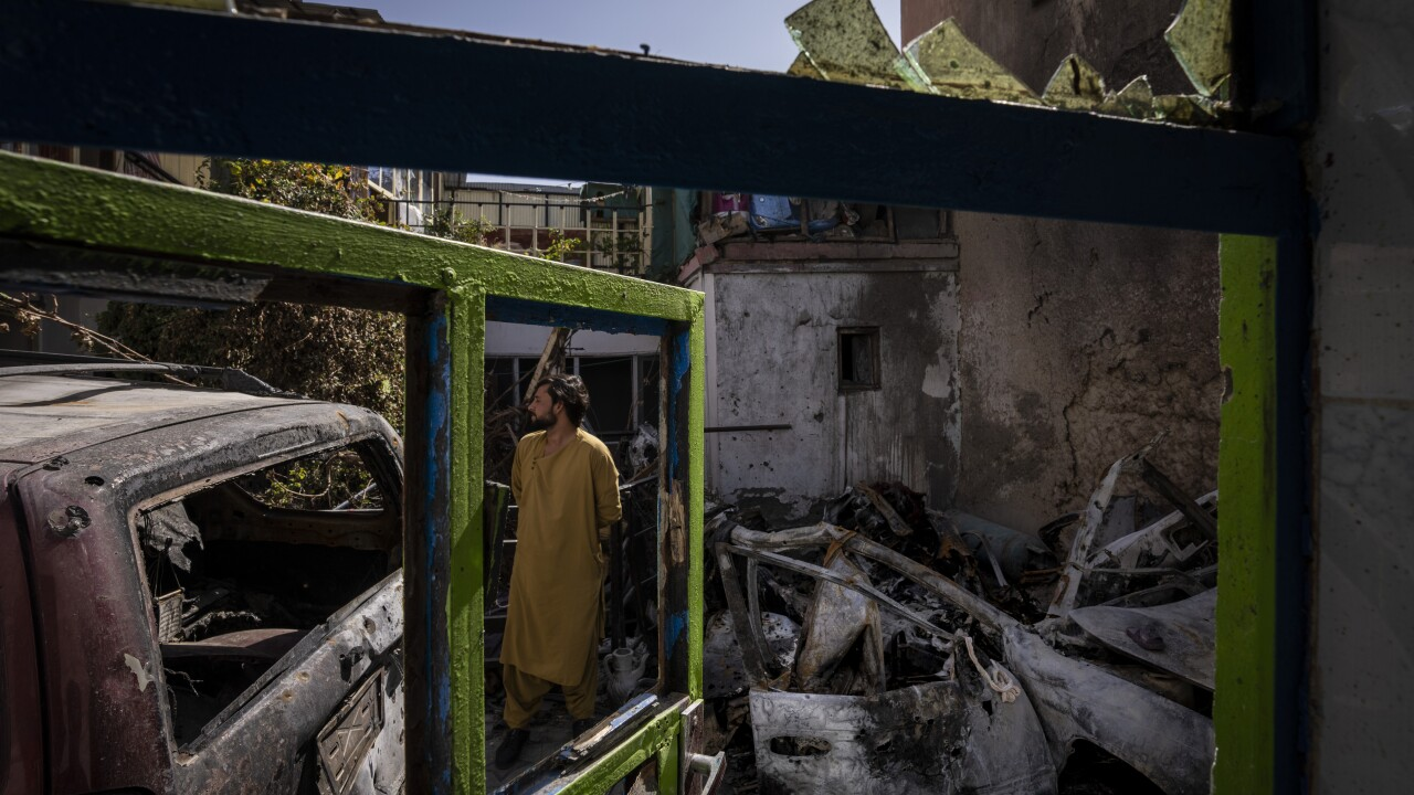 Afghanistan Drone Strike