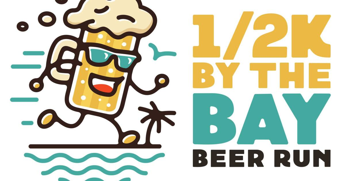 1/2K By The Bay Beer Run this Saturday