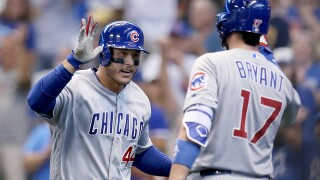 "Report: Cubs ""open"" to trading Kris Bryant and Anthony Rizzo"