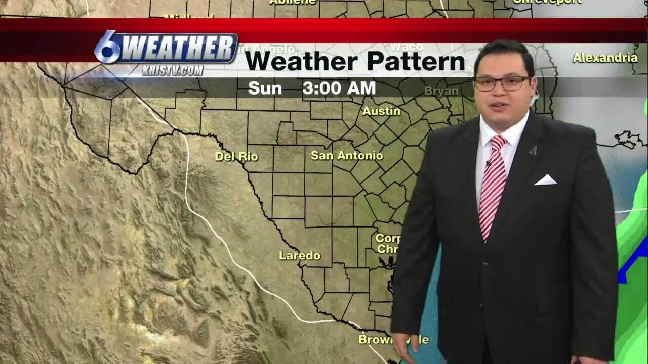 Juan Acuña's weather for Dec. 18, 2020