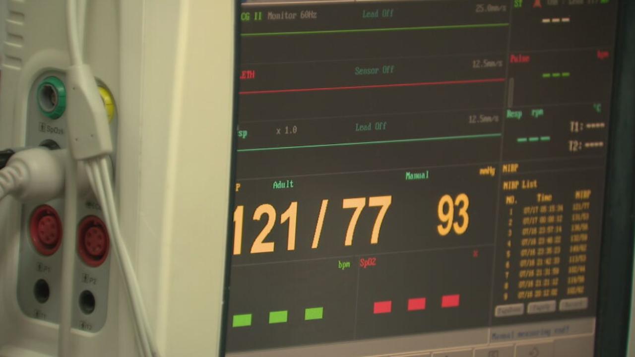 heart monitor - hospital