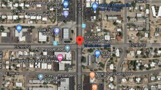 Tucson police say a man was hospitalized with serious injuries in a Tuesday shooting. Photo via Google Maps.