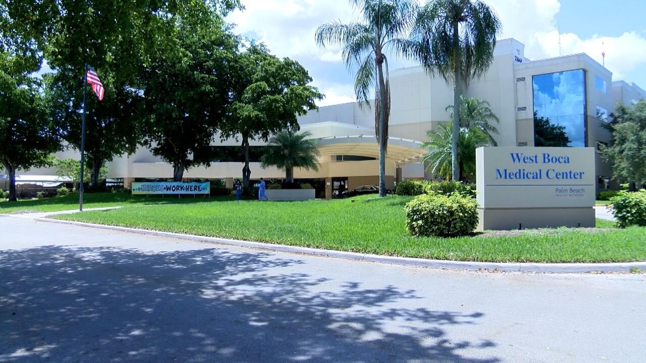 West Boca Medical Center, June 15, 2020