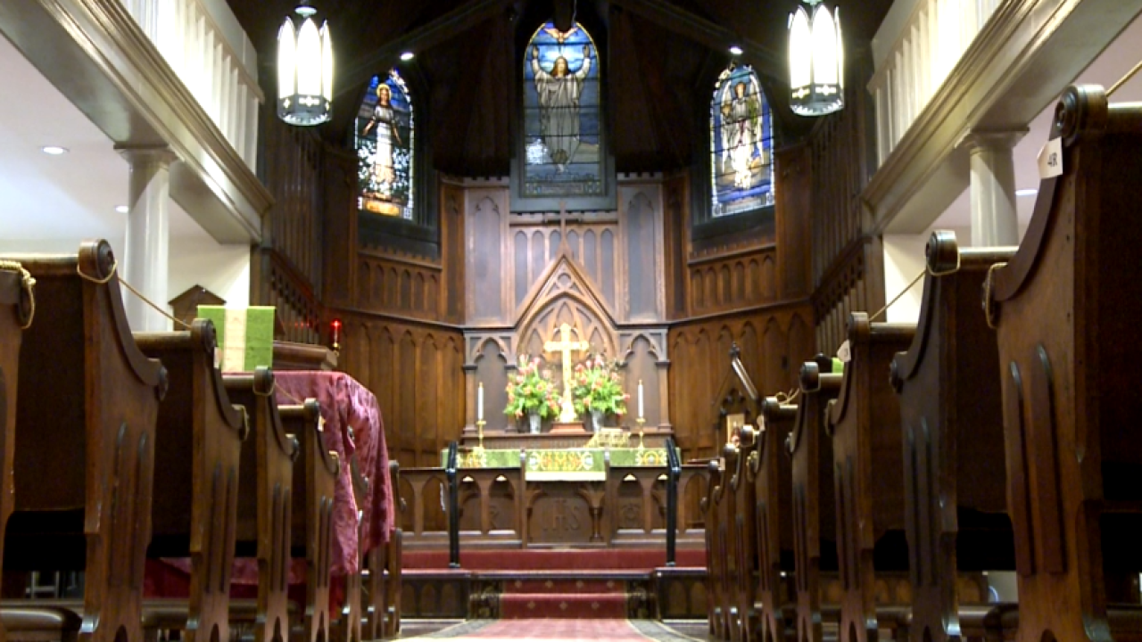 Historic Franklin church celebrates 150 years since reopening