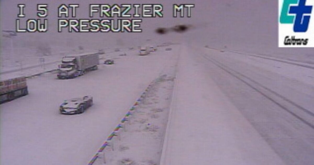 UPDATE: I-5 through Grapevine reopens after closure due to snow