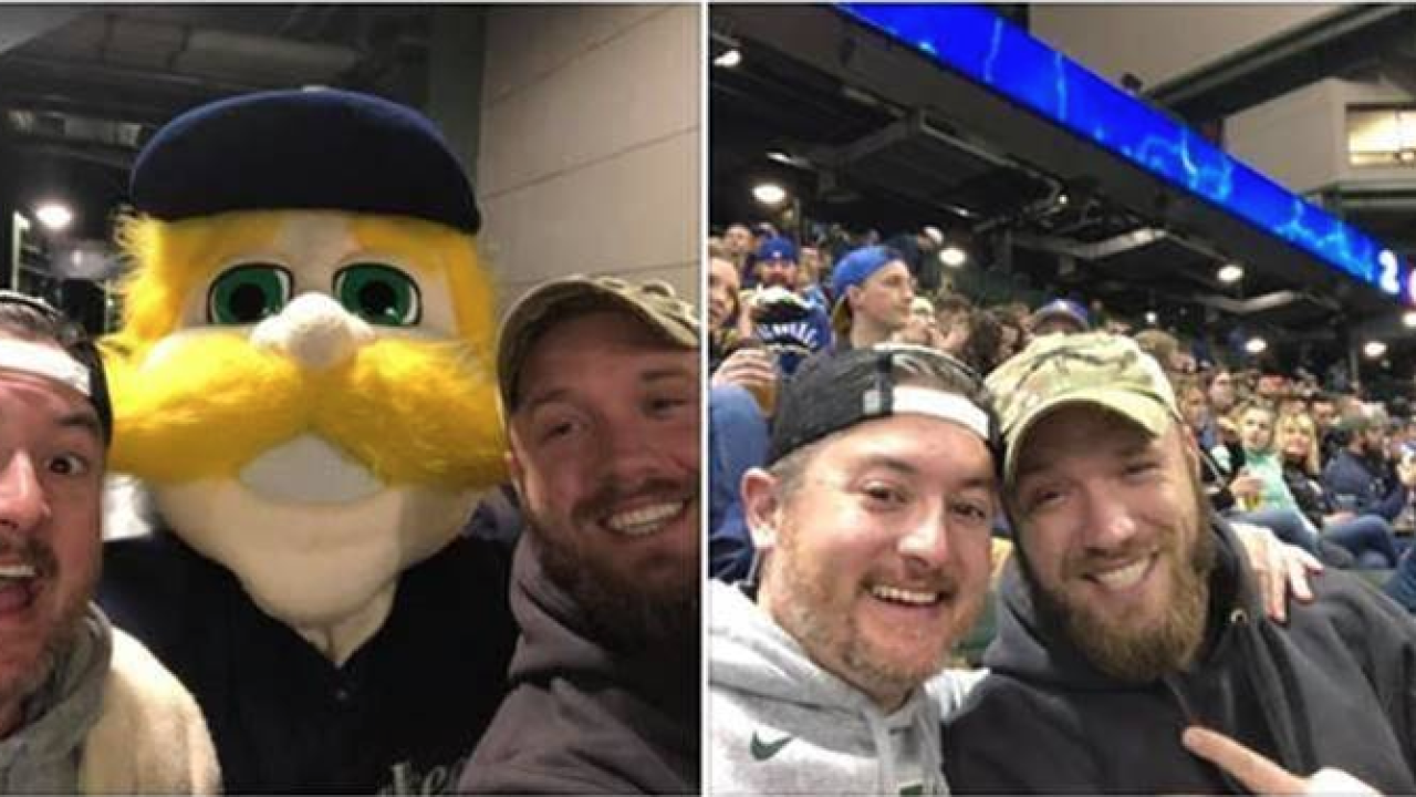 Brewers fan invites veteran to go attend game with him
