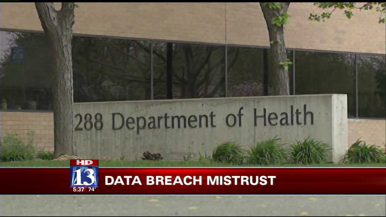 Health department gets little response from data breach victims
