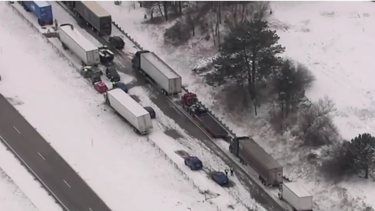 I-94 winter weather driving crash