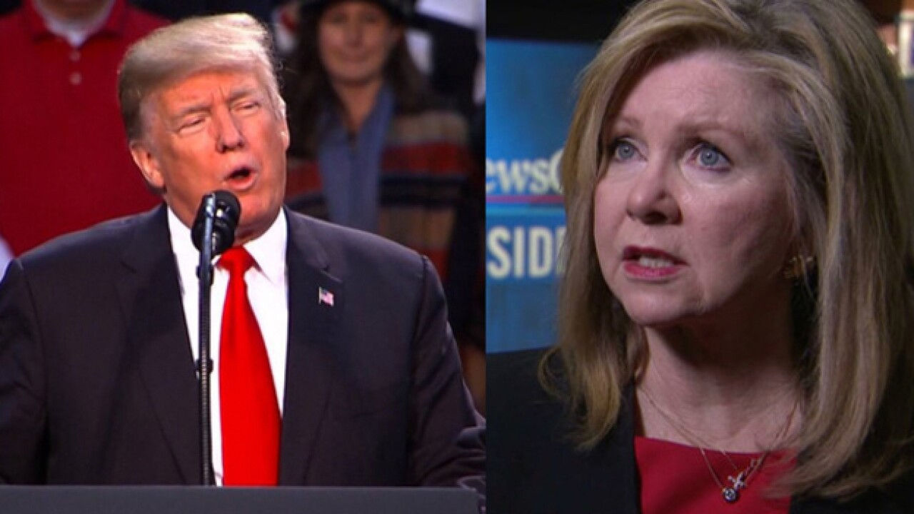 President Endorses Blackburn; Calls Bredesen 'Tool' In Rally