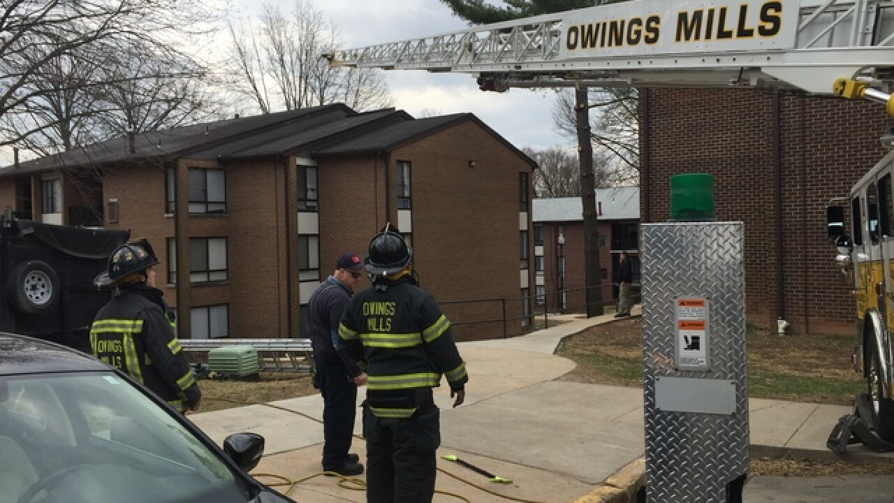 Explosion reported inside Maryland building