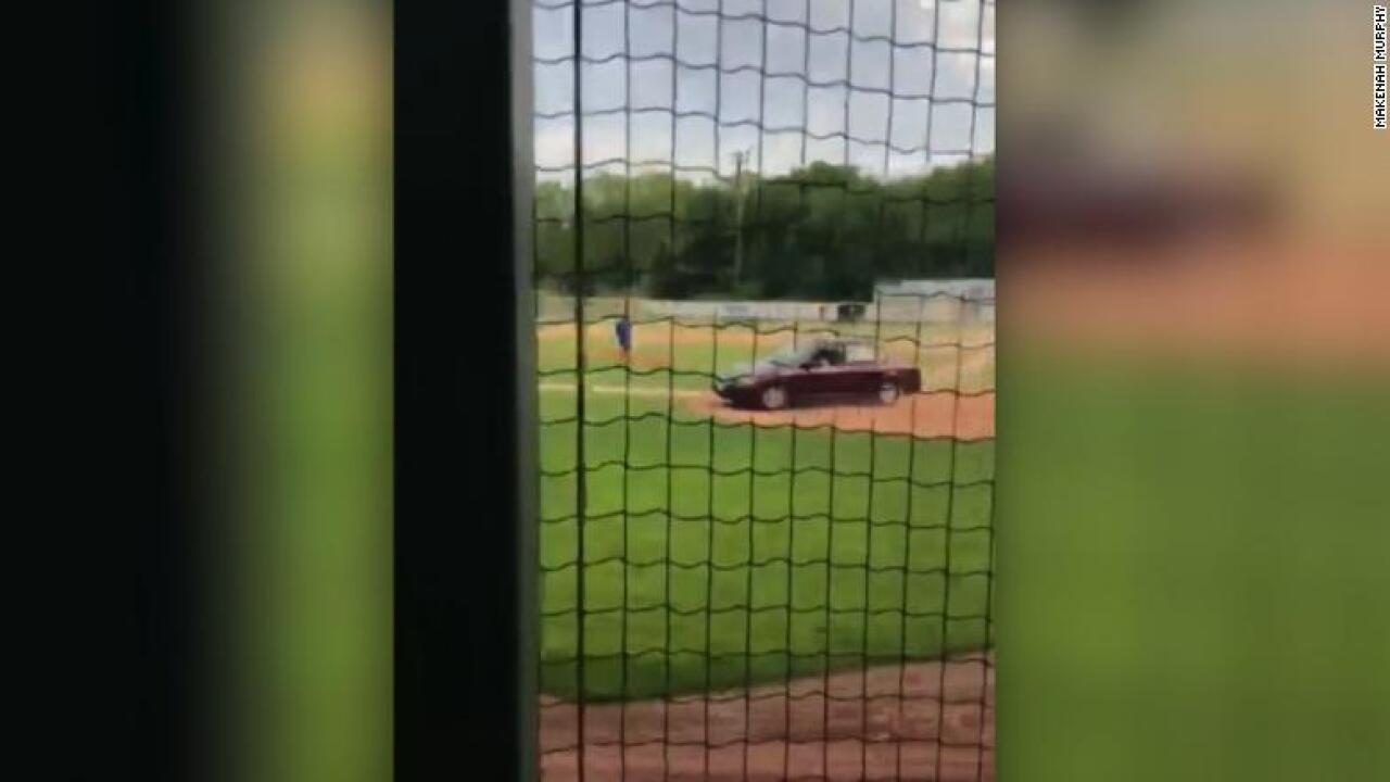 Maine woman charged after car drives onto youth baseball field, kills man, police say