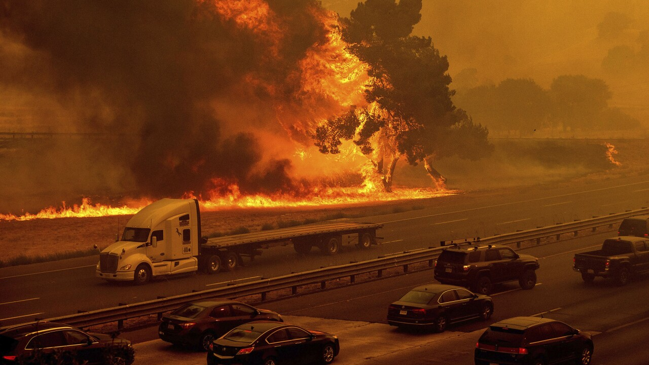 CA wildfires kill at least 4 people as some evacuees weigh coronavirus risks at shelters