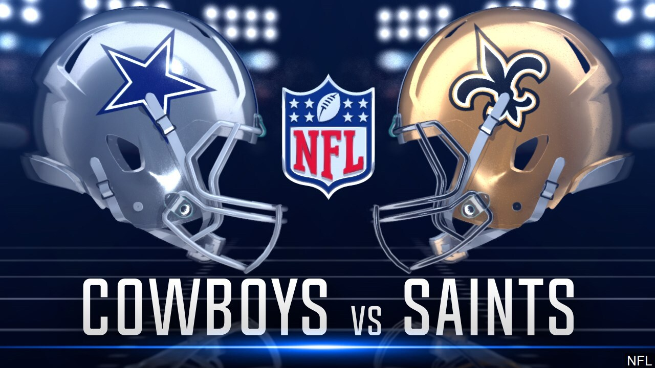 Where To Watch Dallas Cowboys Vs New Orleans Saints This Sunday