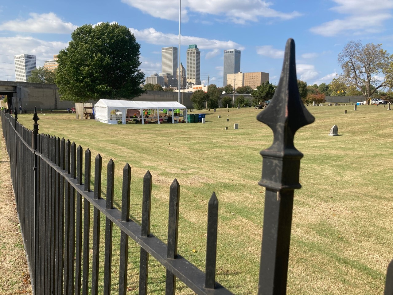 Day three of the second test excavation in the 1921 Tulsa Race Massacre Graves Investigation