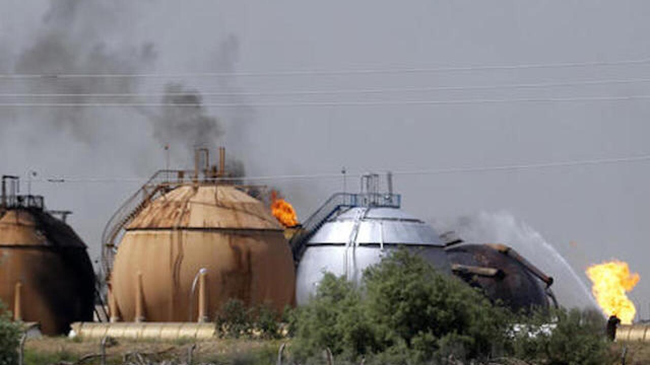 ISIS kills 14 in attack of natural gas plant