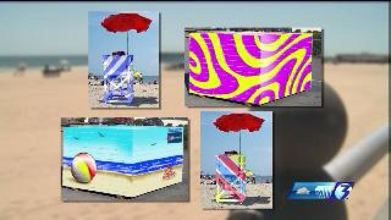 Virginia Beach lifeguard stands to become public art