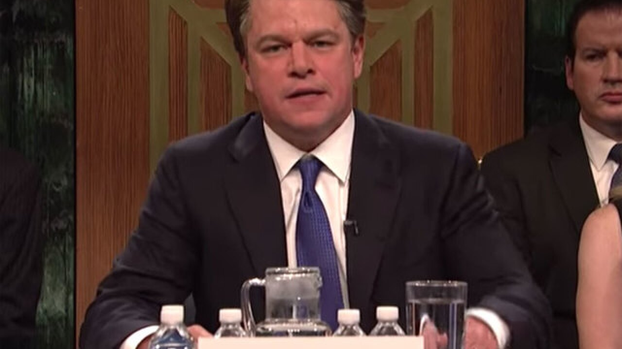 Matt Damon portrays Brett Kavanaugh to kickoff new season of 'Saturday Night Live'