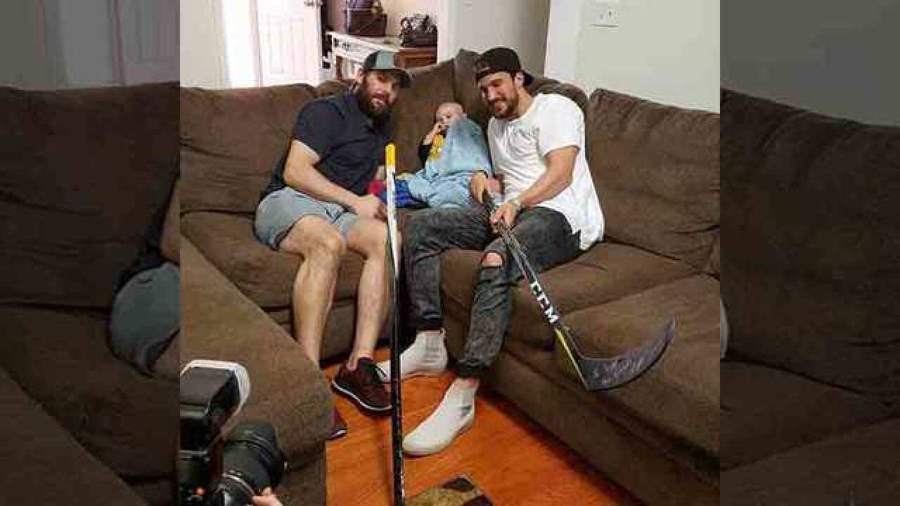 2-Yr-Old Battling Cancer Visited By Fisher, Josi