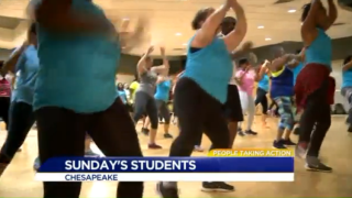 Chesapeake dance teacher preaches kindness and compassion that's contagious