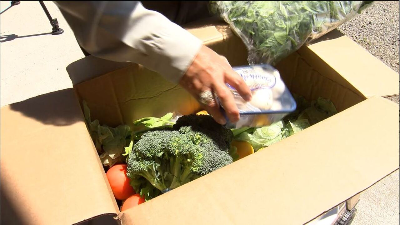 Farmers to Families Food Box Program helps local farmers and families in need