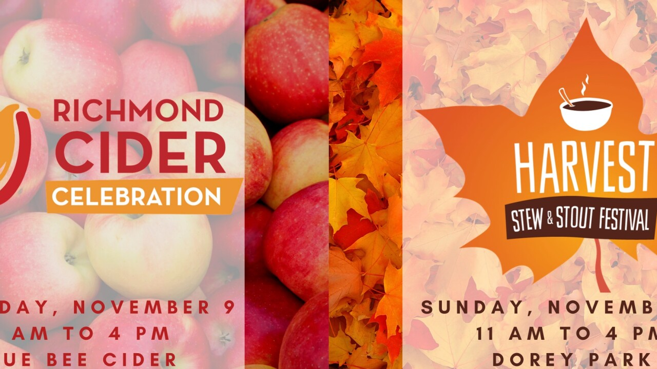 Richmond Cider Celebration, Harvest Stew & Stout & American Indian Expo & Pow Wow