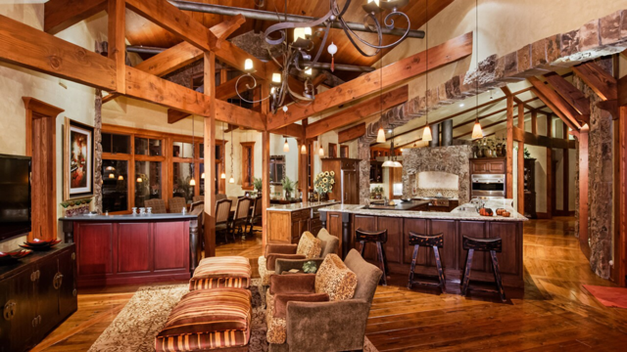Colorado Dream Homes: $13.5M Aspen home teeming with wood and stone, inside and out