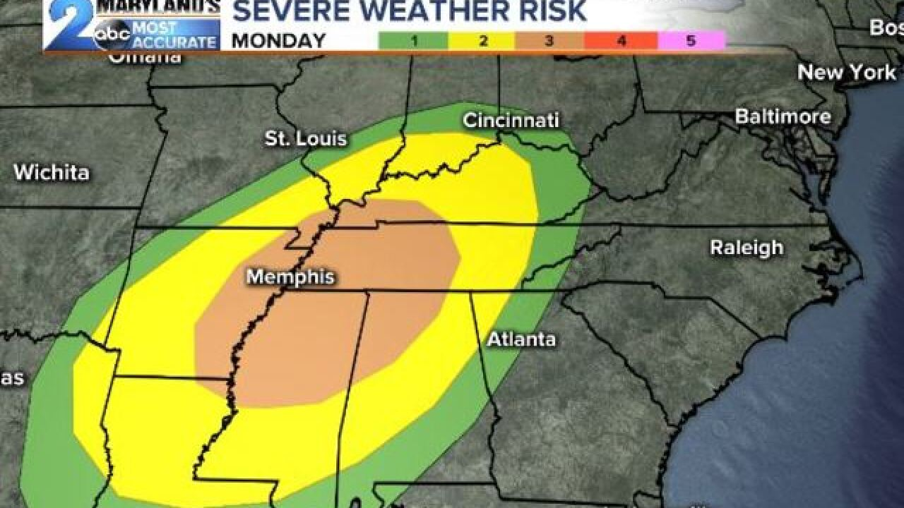 SEVERE WEATHER AGAIN: Election Day Storm Setup