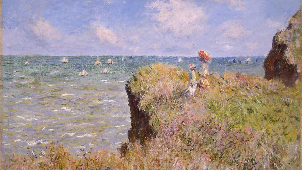 Claude Monet's Paintings On Show At The National Gallery Of Scotland.jpg