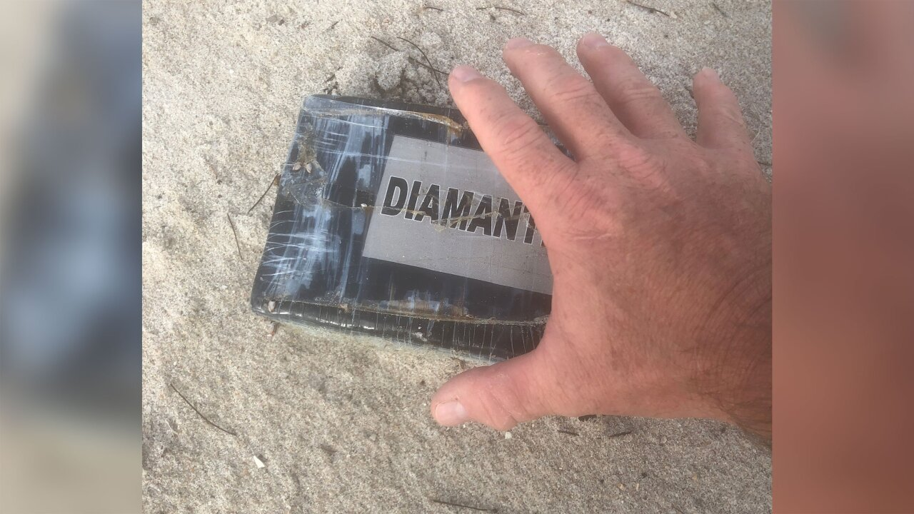 Hurricane Dorian washes bricks of cocaine onto Florida beaches